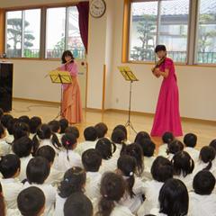 七五三の祝い、土曜参観親子製作、 人形劇・音楽鑑賞